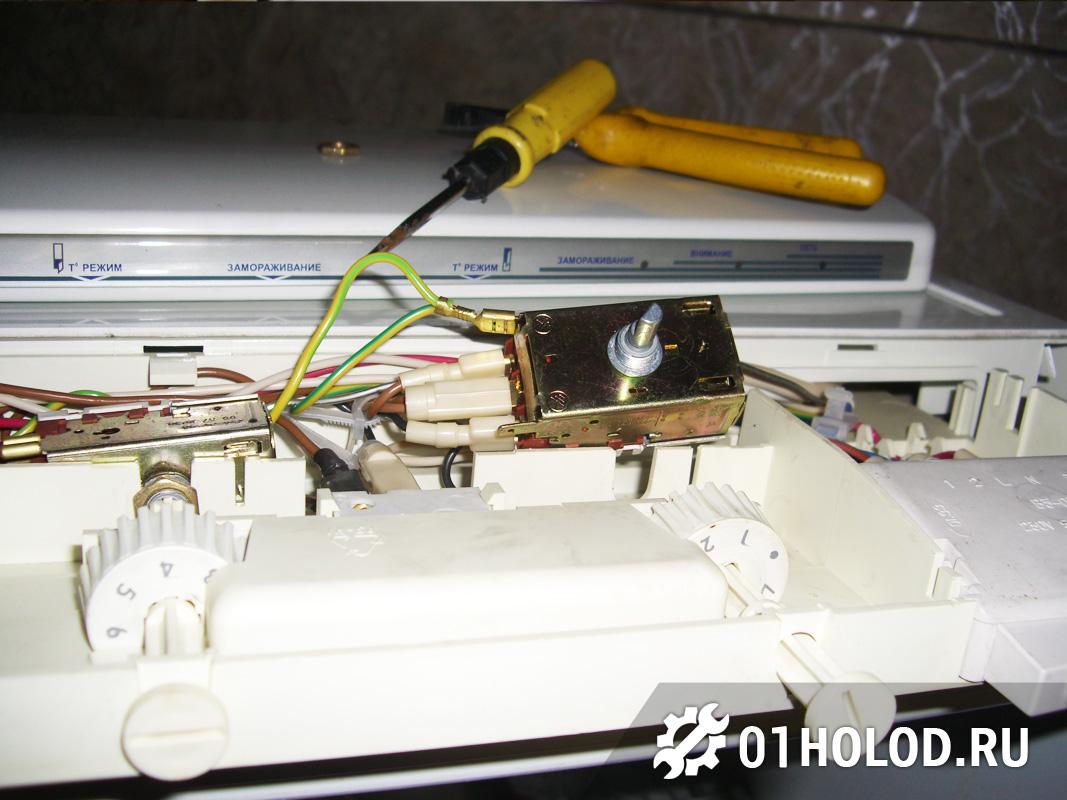 Проверка термостата холодильника Атлант 256
